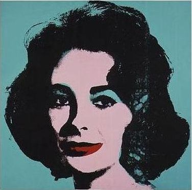 "Andy Warhol ""Liz"""